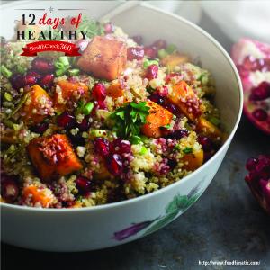 12 Days-03-squash quinoa recipe