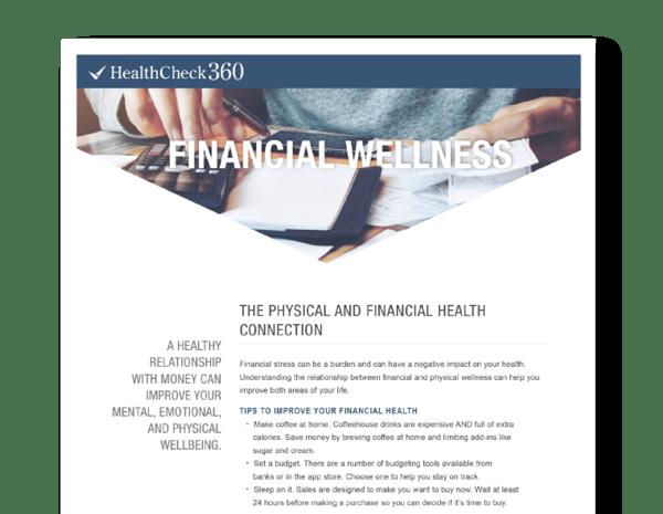Financial Wellness rev-18