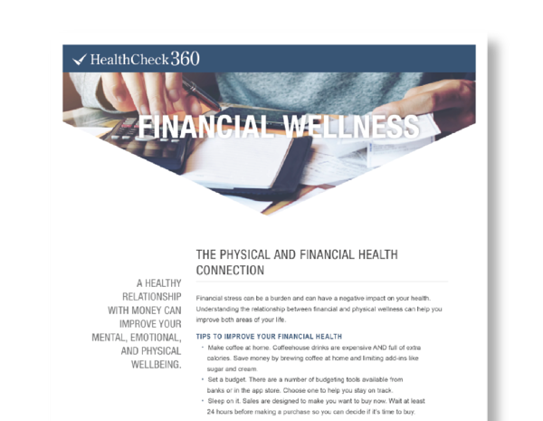 Financial Wellness rev-18